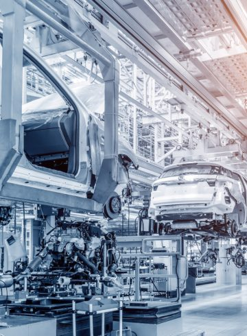 Rollout of Mercedes Production System (MPS) at plant Sindelfingen